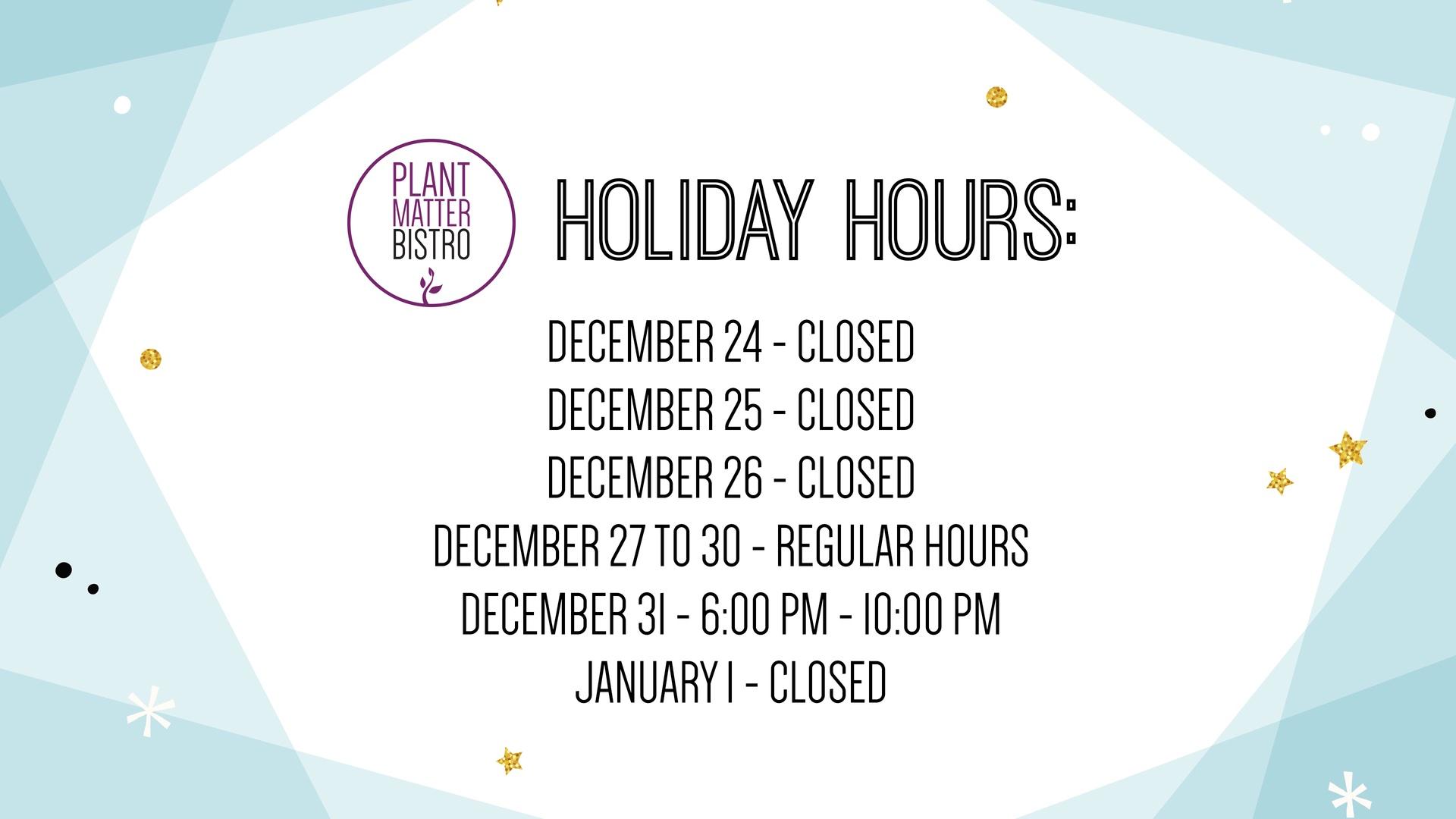 PMB - Hours
