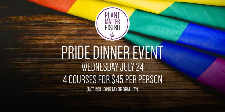 Pride Dinner Event